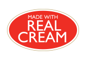 Made with real cream