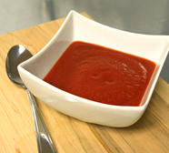 Creamy Chilled Tomato Soup