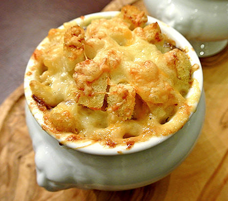 French Onion Mac & Cheese