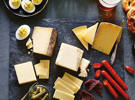 A Champion Cheddar Cheeseboard