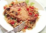 Pork Chops and Rice one-Pot Supper