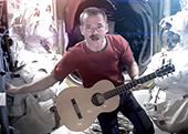 Chris Hadfield's 'Space Oddity'