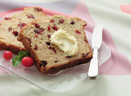Almond Cranberry Loaf Recipe