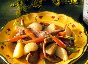 Alsatian Rabbit Casserole