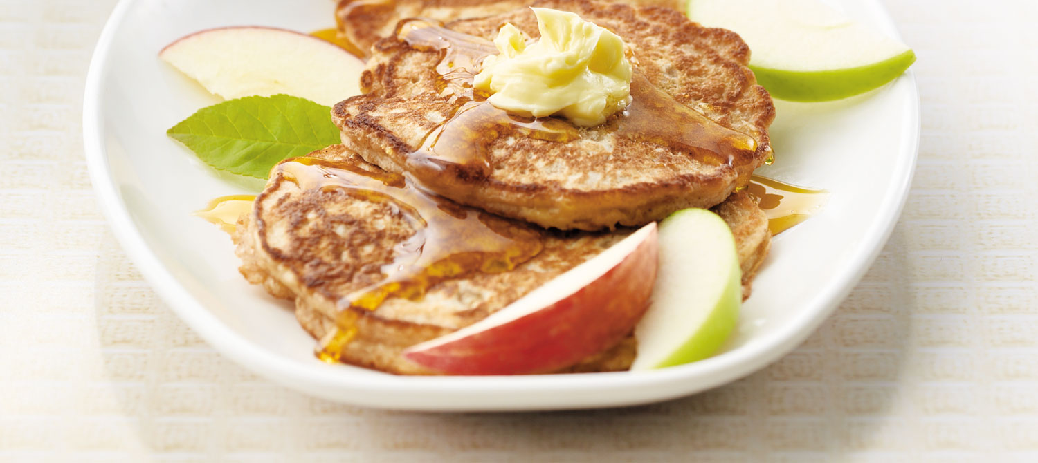 Apple Cinnamon Pancakes recipe | Dairy Goodness