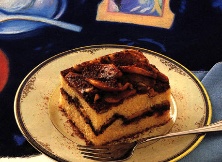 Apple Cinnamon Streusel Coffee Cake Recipe