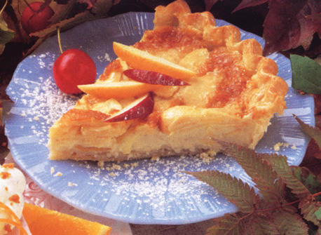 Apple Custard Pie recipe | Dairy Goodness