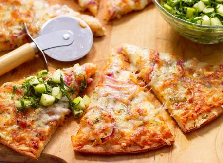 Apple & Swiss Pizza Recipe