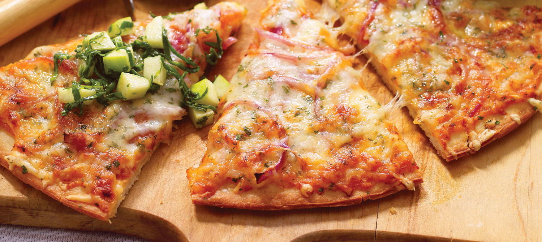 Apple & Swiss Pizza recipe   Dairy Goodness