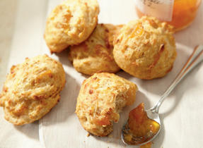 Apricot and Gouda Scones