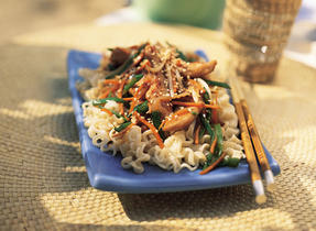Asian Chicken and Vegetable Stir-fry