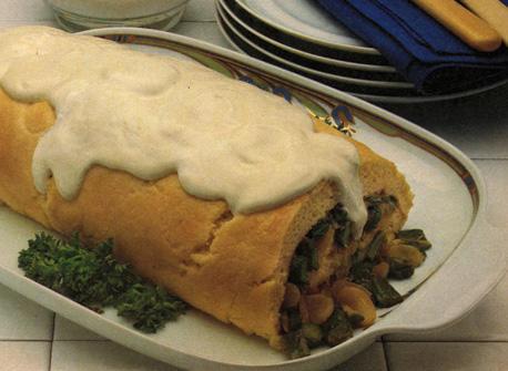 Asparagus Cheese Soufflé Roll Recipe
