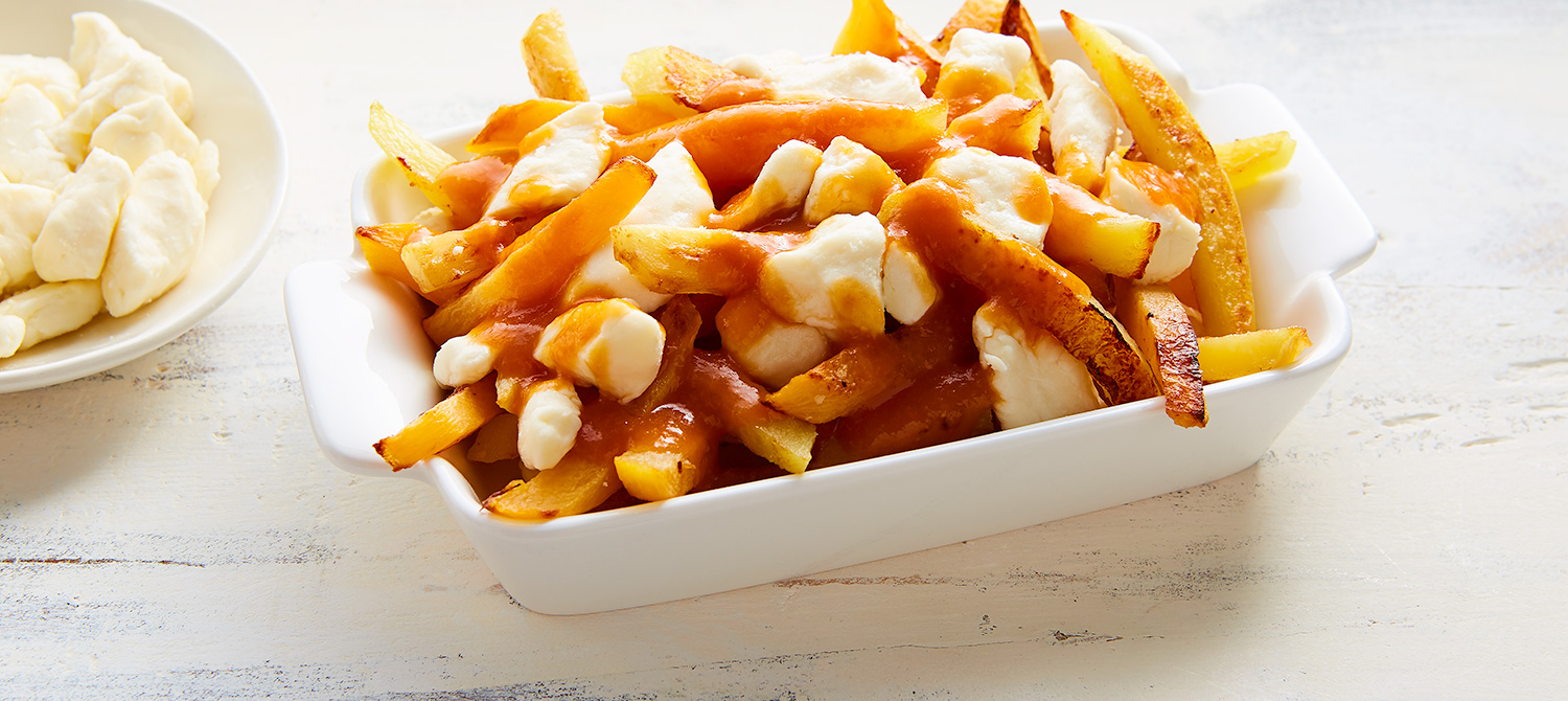 autumn vegetable poutine recipe