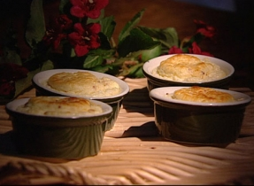 Bacon and Cheese Soufflé