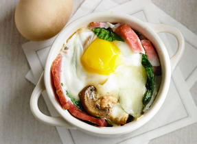 Baked Ham and Egg Cup