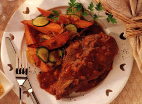 Baked Pork Chops with Barbecue Sauce