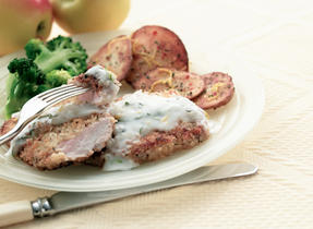 Baked Pork Chops with Lemon and Herbs