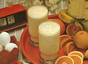 Banana Breakfast Booster, Strawberry Starter, Pineapple-Grapefruit Lift & Wake-Up Shake-Up