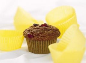 Banana Raisin Oat Bran Muffins