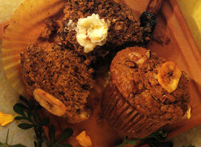 Banana Wheat Muffins