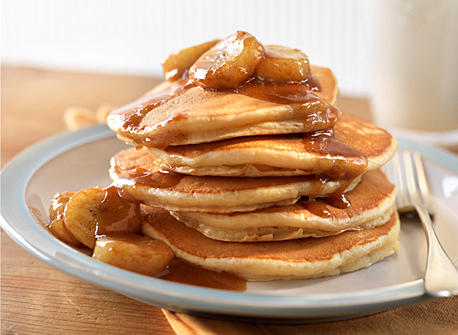 Bananas Foster Pancakes recipe | Dairy Goodness