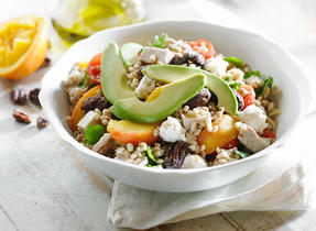 Barley and Feta Salad