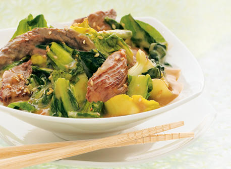 Beef and Greens Stir-fry Recipe