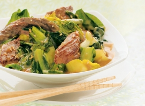 Beef and Greens Stir-fry