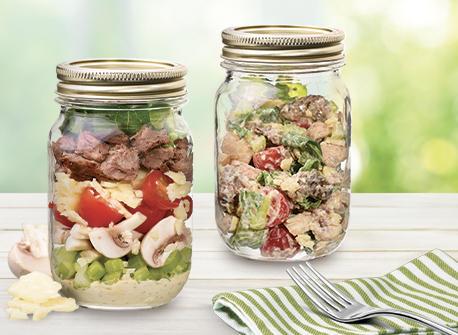 Beef Caesar Salad Recipe
