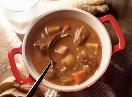Big Batch Beef & Root Veggie Stew Recipe