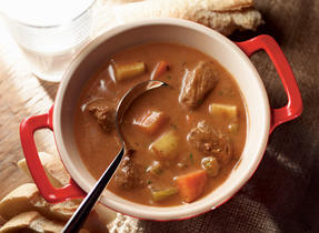 Big Batch Beef & Root Veggie Stew