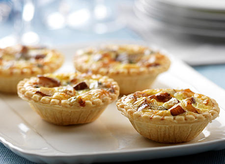 Blue Cheese and Pear Tarts Recipe