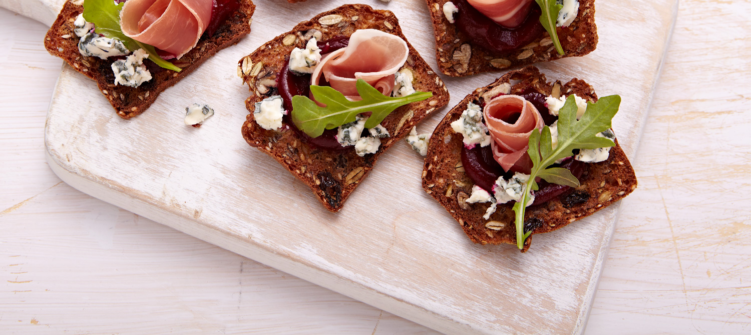 Blue cheese canap s recipe dairy goodness for Cheese canape ideas