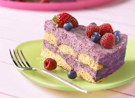 Blueberry Icebox Cake Recipe