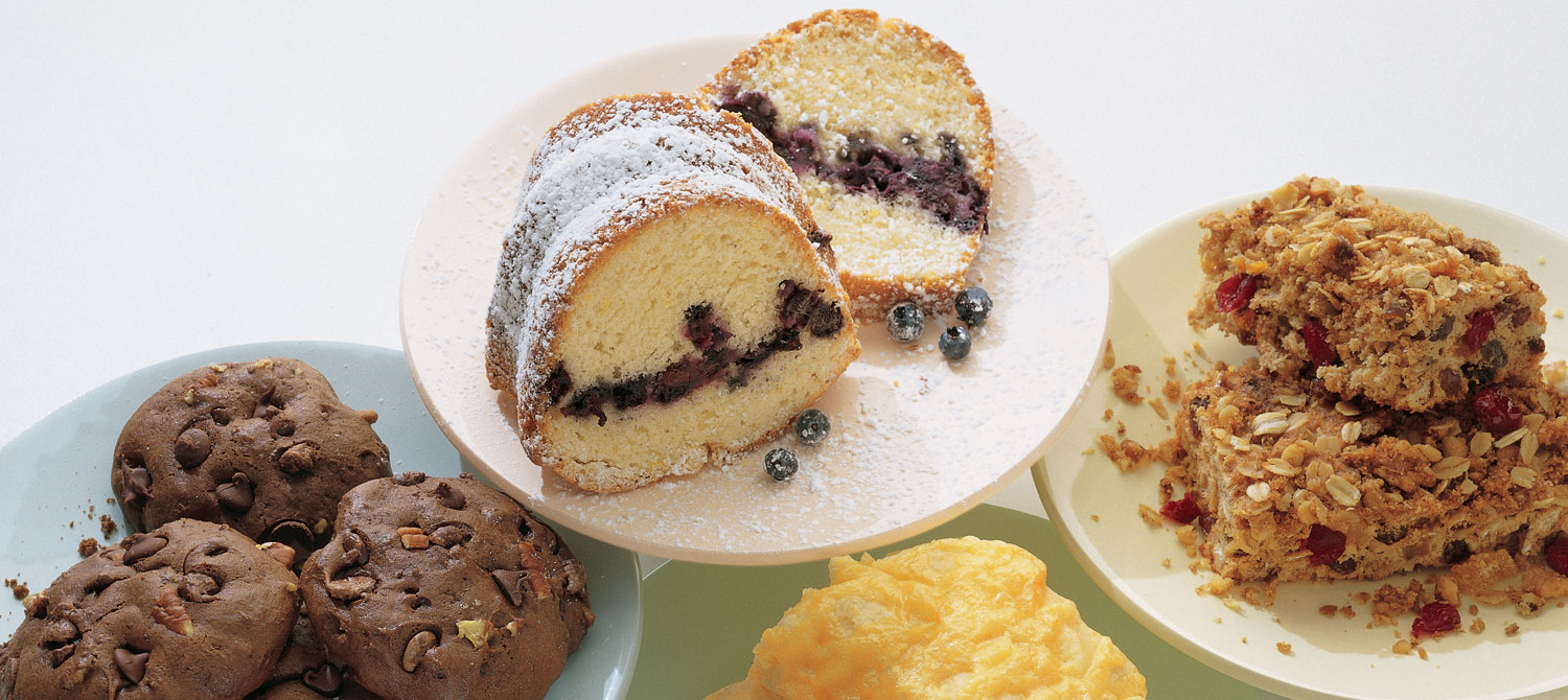 Blueberry Lemon Coffee Cake recipe | Dairy Goodness
