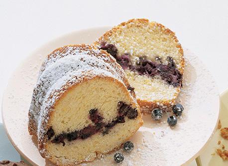 Blueberry Lemon Coffee Cake recipe | Dairy Goodness