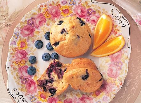 Blueberry Muffins à la Suisse (Cooking Club Size) Recipe