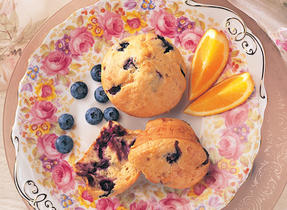 Blueberry Muffins à la Suisse (Cooking Club Size)