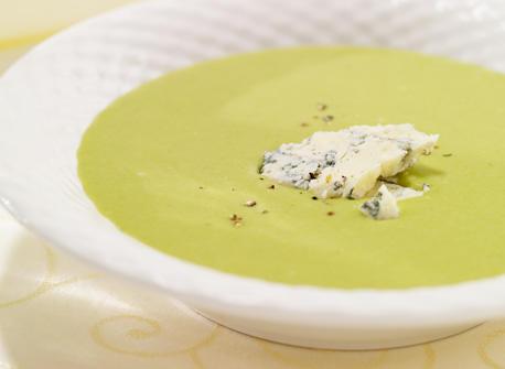 Blues and Greens Cream of Leek Recipe