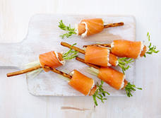 Boursin® salmon sticks