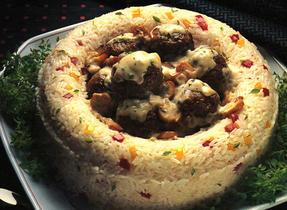 Braised Meatballs In Mushroom Sauce