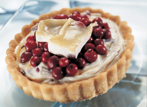Brie-Cranberry Tarts