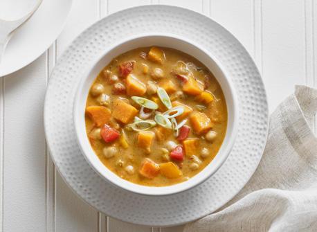Cajun Sweet Potato and Chickpea Chowder Recipe