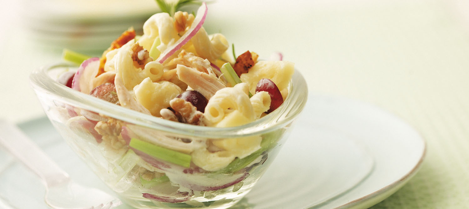 California Chicken Pasta Salad recipe | Dairy Goodness
