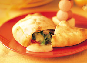 Calzones with Canadian Swiss Cheese