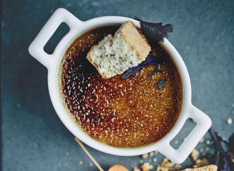 Canadian Blue Cheese Crème Brûlée Recipe