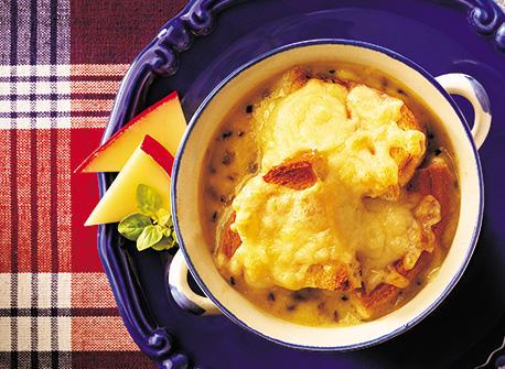 Canadian Gouda and Leek Potage Recipe