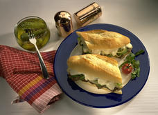 Canadian Swiss Cheese and Roast Beef Sandwiches recipe