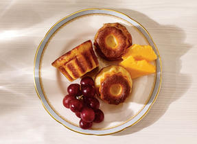 Cannelés with Black River 5-Year Aged Cheddar