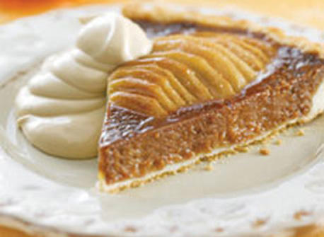 Caramel Pear Tart recipe | Dairy Goodness